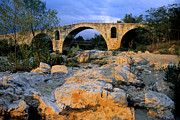 Architecture Metal Prints - Pont Julien. Luberon. Provence. France. Europe Metal Print by Bernard Jaubert