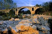 Pont Julien. Luberon. Provence. France. Europe Print by Bernard Jaubert