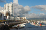 Peer Prints - Ponta Delgada waterfront Print by Gaspar Avila
