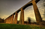 River Dee Framed Prints - Pontcysyllte Aqueduct Framed Print by Rob Hawkins