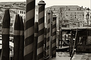 Olia Saunders Metal Prints - Ponte Rialto and Canale Grande in Venice Metal Print by Design Remix