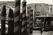 Ponte Rialto And Canale Grande In Venice Print by Design Remix