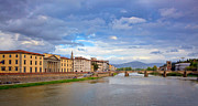 Y120907 Art - Ponte Santa  Over River Arno by Albert Tan photo