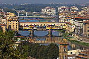 Florence Prints - Ponte Vecchio - Florence Print by Joana Kruse