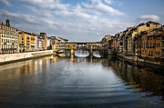 Landmark Art - Ponte Vecchio by David Bowman