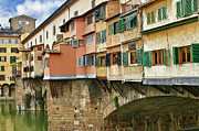Ponte Vecchio Photos - Ponte Vecchio Florence Italy by Forest Alan Lee