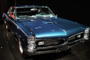 Domestic Car Prints - Pontiac GTO 2 Print by Wingsdomain Art and Photography