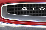Grill Digital Art Prints - Pontiac GTO  Print by Mike McGlothlen
