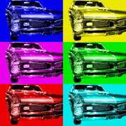 Domestic Car Digital Art - Pontiac GTO Six by Wingsdomain Art and Photography