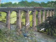 Engineering Originals - Pontycysylite Aquaduct     Wales by Carol Williams