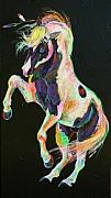 Pinto Paintings - Pony Power II by Louise Green