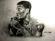 Lebron James Drawings - Poohdini by Adrian Villegas