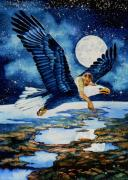 Flying Eagle Prints - Pooka Hill 4 Print by Hanne Lore Koehler