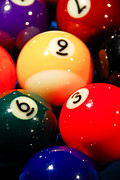 9 Ball Photos - Pool by Marko Moudrak