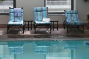 Lounge Chair Prints - Pool Time Print by Lauri Novak