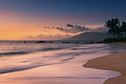 Pacific Islands Prints - Poolenalena Beach At Sunset Print by Proframe Photography