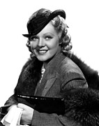 Fur Stole Prints - Poor Little Rich Girl, Alice Faye, 1936 Print by Everett