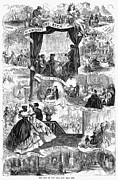 Eviction Framed Prints - Poor New York, 1865 Framed Print by Granger