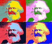 Marx Digital Art - Pop Art Marx by Terry Collett