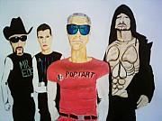 U2 Painting Metal Prints - Pop Tart Metal Print by Colin O neill