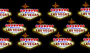 Las Vegas Sign Prints - Pop Vegas Print by David Lee Thompson