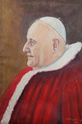 Mario Zampedroni - Pope John XXIII painted...