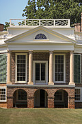 Poplar Forest Photo Metal Prints - Poplar Forest South Portico Metal Print by Teresa Mucha