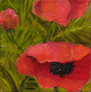 Rita Bentley - Poppies Diptych B