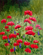 Glenda Cason - Poppies In A Meadow III