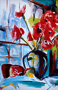 First Art Show - Poppies by John Gholson