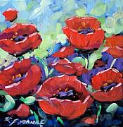 Richard Art - Poppies by Richard T Pranke