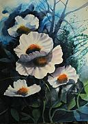 Poppies Print by Robert Carver