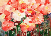 All Poppies Paintings - Poppy Fever by Phong Trinh