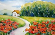 Meltem Kilic - Poppy Field