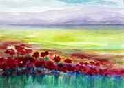 Floral Photographs Prints - Poppy Meadow 2 Print by Julie Lueders