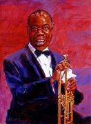 Legend  Paintings - Pops Armstrong by David Lloyd Glover