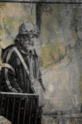 Homeless Man Prints - Population One Print by Off The Beaten Path Photography - Andrew Alexander