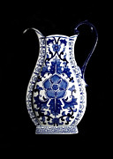 Blue And White Porcelain Prints - Porcelain1 Print by Jose Luis Reyes