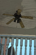 Ceiling Fan Posters - Porch 1 Poster by Kathi Shotwell