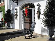 Susanne Van Hulst - Porch at Boone Hall Plantation Charleston SC