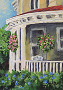 Charleston Painting Posters - Porch Poster by Torrie Smiley