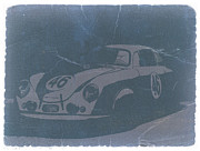 Concept Cars Prints - Porsche 356 Coupe Front Print by Irina  March