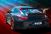 Gt3 Prints - Porsche 911 GT3 RS Print by Stuart Row