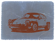 Naxart Digital Art Metal Prints - Porsche 911 Metal Print by Irina  March