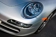 Headlight Framed Prints - Porsche 911 Framed Print by Paul Velgos