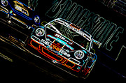 Kelly Prints - Porsche 911 Racing Print by Sebastian Musial