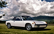 Motorsports Framed Prints - Porsche 914 Framed Print by Douglas Pittman