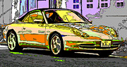 Samuel Sheats Art - Porsche Carrera Study 4 by Samuel Sheats
