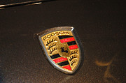 Hores Framed Prints - Porsche emblem Framed Print by Micah May