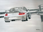 Gt3 Prints - Porsche GT3 Print by Richard Le Page